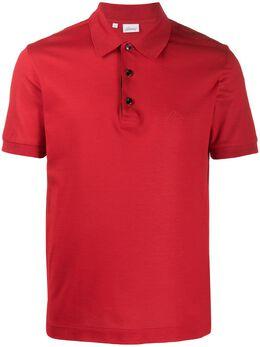 Brioni рубашка-поло с вышитым логотипом UJEJ0LP9612