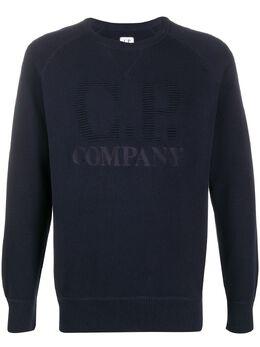 C.P. Company джемпер с вышитым логотипом 08CMKN061A005664A