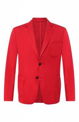 Пиджак из смеси льна и хлопка Giorgio Armani 0SGGG0D9/T01FI