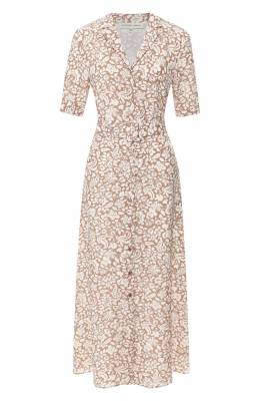 Шелковое платье Alexander Terekhov D1259/1415.PF311/S20