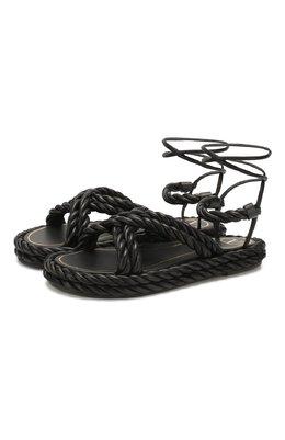 Кожаные сандалии Valentino Garavani The Rope Valentino TW0S0Y14/GWJ