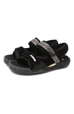 Замшевые сандалии Off-White 0MIA169S207800201000