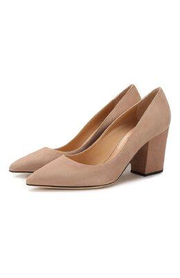 Замшевые туфли Sergio Rossi A85320-MCAZ01