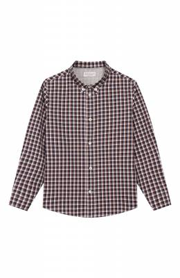 Хлопковая рубашка Brunello Cucinelli BN6353008B