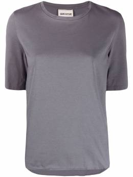 Semicouture футболка с круглым вырезом и логотипом S0SJ01