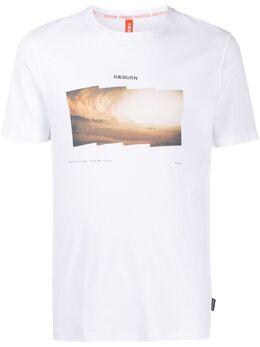 Raeburn футболка Habitat с принтом RM42002M20S