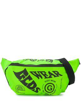 GCDS поясная сумка с логотипом SS20M010020