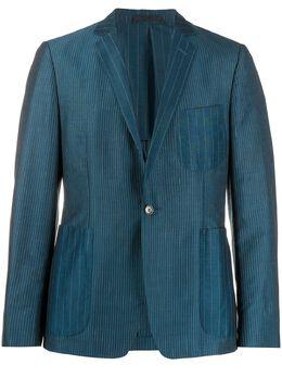 Romeo Gigli Pre-Owned полосатый пиджак 1990-х годов RGIG350E