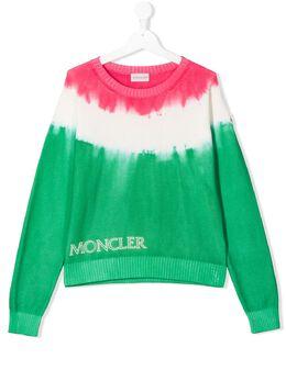 Moncler Kids джемпер с принтом тай-дай 9C70610V9123001