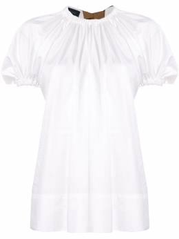 Eudon Choi блузка Summers со сборками EC20S4T003SC