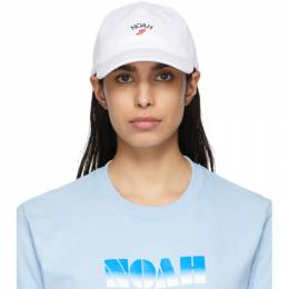 Noah Nyc White Winged Foot Cap H3SS20WHT