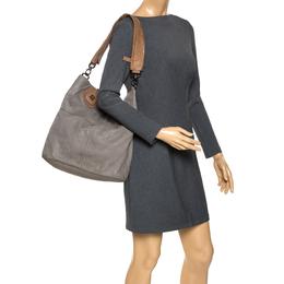 Givenchy Grey Leather Nightingale Shopper Toe Bag