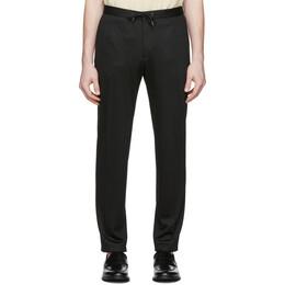 Boss by Hugo Boss Black Wool Pinstripe Trousers 50427205