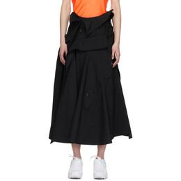 Junya Watanabe Black Trench Skirt JE-S004-051