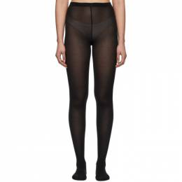 Wolford Black Merino Tights 11310