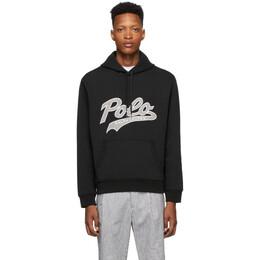 Polo Ralph Lauren Black Tech Hoodie 710792889007