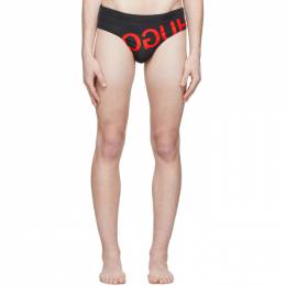 Hugo Black Ibiza Swim Briefs 50426186
