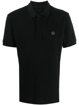 Philipp Plein рубашка-поло с логотипом P20CMTK4306PJY002N