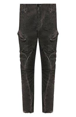 Хлопковые брюки-карго Masnada M2421D