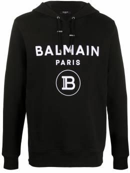 Balmain худи с логотипом TH03642I200