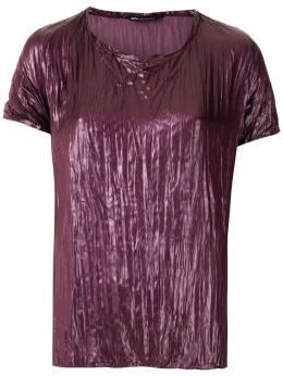 Uma | Raquel Davidowicz плиссированная блузка Cary TOPCARY20AW20