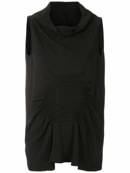 Uma | Raquel Davidowicz блузка без рукавов Cannes TOPCANNES02AW20