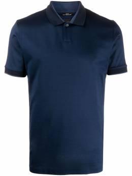 Boss by Hugo Boss рубашка-поло с контрастной отделкой 50423765