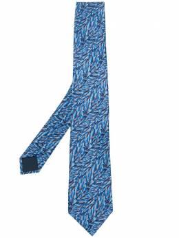 Lanvin галстук с графичным принтом CRAVATESCM72829