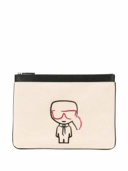 Karl Lagerfeld клатч Rue St Guillaume с вышивкой 201W3228191