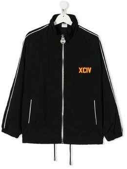 GCDS Kids куртка с нашивкой-логотипом 022491