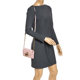 Michael Kors Pink Leather Crossbody Bag 275851