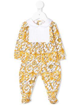 Young Versace пижамный комбинезон с принтом Baroque YE000121A233329