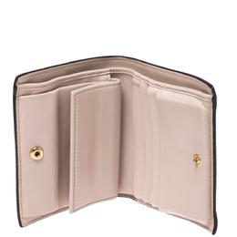 Fendi Beige Leather Bifold F Is Compact Wallet 275945