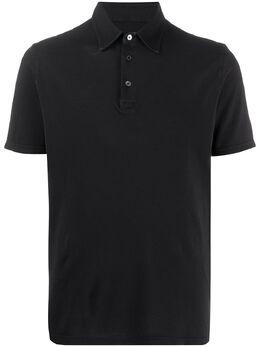Fedeli однотонная рубашка-поло 3UEF0127
