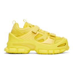 Juun.J Yellow Track Oversized Sneakers JC02K1H00E