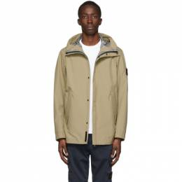 Stone Island Beige Hooded Jacket 721543020