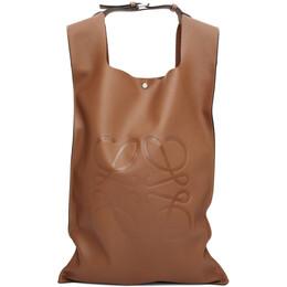 Loewe Tan Shopper Backpack 317.77AA90