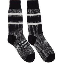 Sacai Black Sun Surf Edition Diamond Head Socks 20-00602