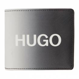 Hugo Black and White Achromatic Bifold Wallet 50431488