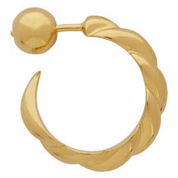 Sophie Buhai Gold Small Rope Hoop Earrings