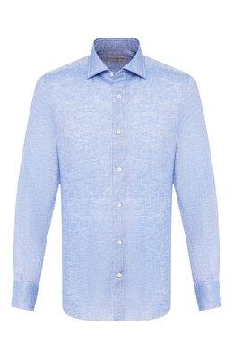 Льняная рубашка Luciano Barbera 105469/70735