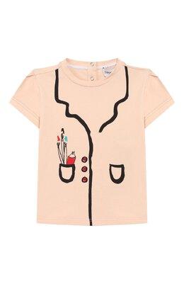 Хлопковая футболка Emporio Armani 3HET02/3J2IZ