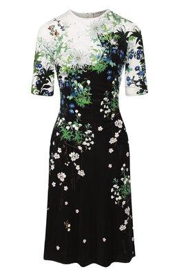 Платье из вискозы Givenchy BW20V930GN