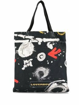 Charles Jeffrey Loverboy сумка-тоут с принтом и логотипом CJLSS20TB