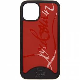 Christian Louboutin Black and Red Loubiphone Sneakers iPhone 11 Case 1205188