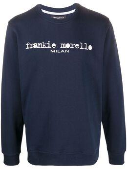 Frankie Morello толстовка с круглым вырезом и логотипом FMS0711FE3000