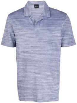 Boss by Hugo Boss рубашка-поло с открытым воротником 50424988