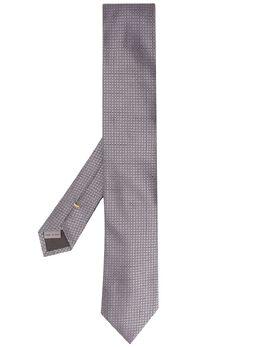 Canali жаккардовый галстук 14HJ02612