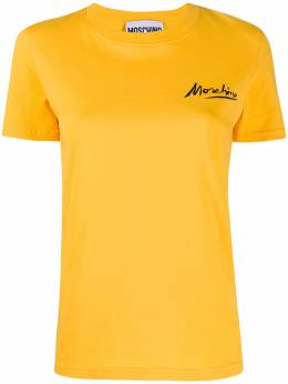 Moschino футболка с логотипом A07080440