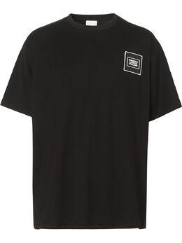 Burberry футболка свободного кроя с логотипом 8028943
